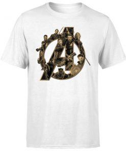 Marvel Avenger Infinity War Avenger Logo T-Shirt