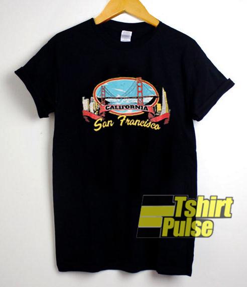 California San Francisco t-shirt for men and women tshirt