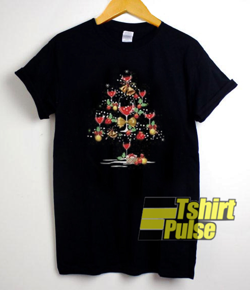 Christmas Wine t-shirt for men and women tshirt