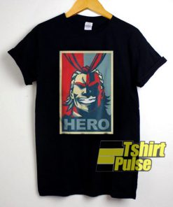 Hero Poster t-shirt for men and women tshirt