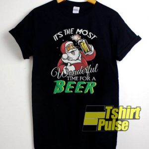 It's The Most Wonderful Time For A Beer t-shirt for men and women tshirt