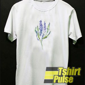 Lavender Flower t-shirt for men and women tshirt