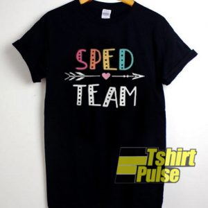 Sped Team t-shirt for men and women tshirt