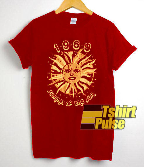 1969 Summer Of The Sun t-shirt for men and women tshirt