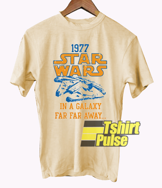 1977 Star Wars In Galaxy t-shirt for men and women tshirt