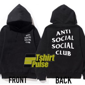 Anti Social Social Club hooded sweatshirt clothing unisex hoodie