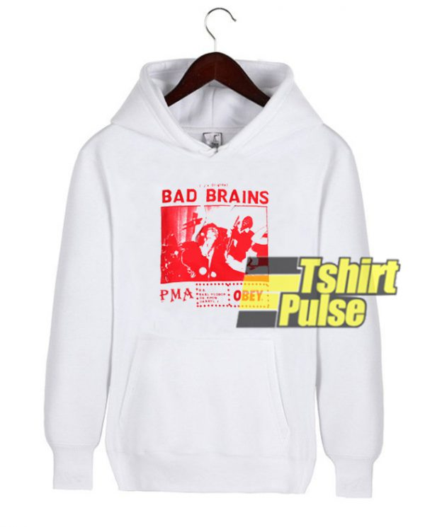 Bad Brains hooded sweatshirt clothing unisex hoodie