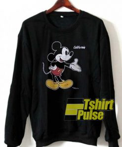 California Mickey Mouse sweatshirt