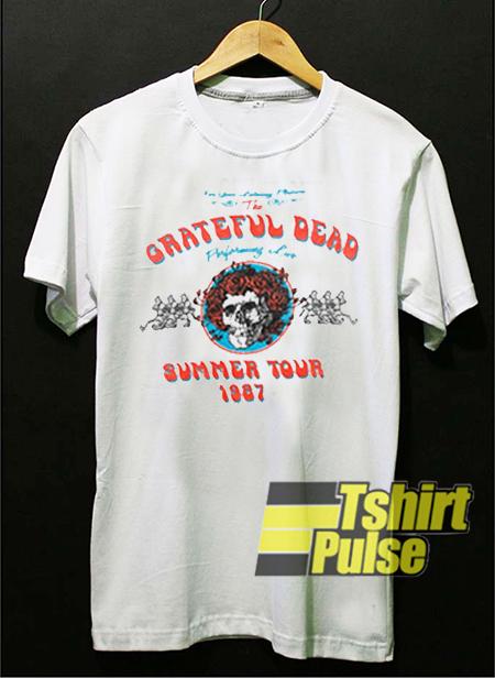 5688d1dbacf2 Grateful Dead Summer Tour 1987 t-shirt for men and women tshirt