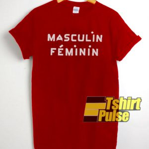 Masculin Feminin t-shirt for men and women tshirt