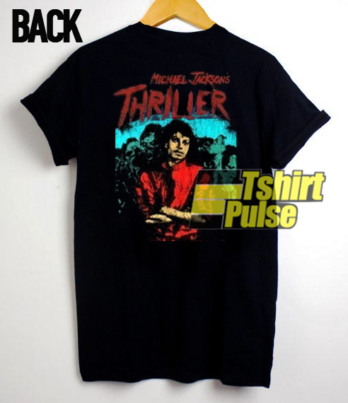 Michael Jackson Thriller Vintage Back t-shirt for men and women tshirt