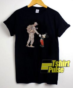 Mickey Mouse Thankful Veteran t-shirt for men and women tshirt