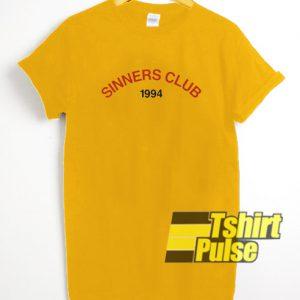 Sinners Club 1994 t-shirt for men and women tshirt