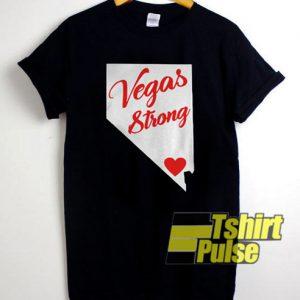 Vegas Strong t-shirt for men and women tshirt