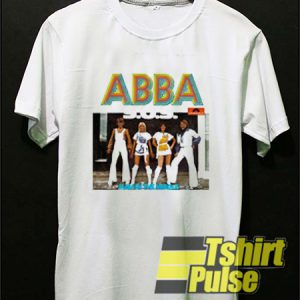 ABBA Vintage t-shirt for men and women tshirt