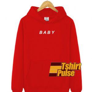 Baby hooded sweatshirt clothing unisex hoodie