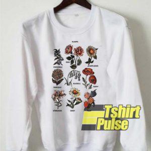 Blooms Flower sweatshirt