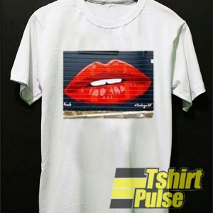 Bodega SF lips t-shirt for men and women tshirt