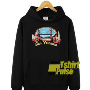 California San Francisco hooded sweatshirt clothing unisex hoodie
