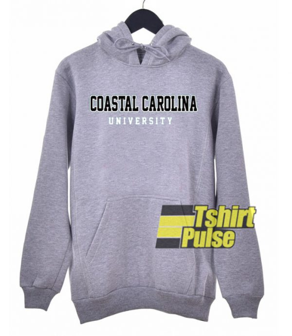 Coastal Carolina University hooded sweatshirt clothing unisex hoodie