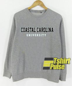 Coastal Carolina University sweatshirt