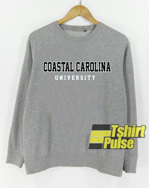 Coastal Carolina University sweatshirt