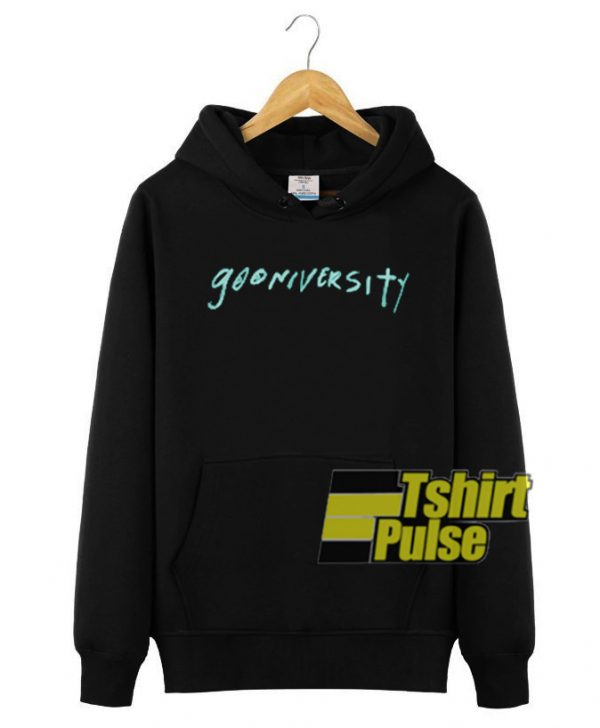 Gooniversity hooded sweatshirt clothing unisex hoodie