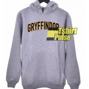 Griffindor Printed hooded sweatshirt clothing unisex hoodie