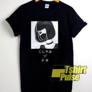 Japanese Girl Loose t-shirt for men and women tshirt