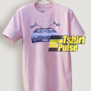 Kendall Jenner Delorean t-shirt for men and women tshirt