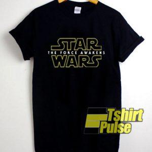 Star Wars The Force Awakens t-shirt for men and women tshirt