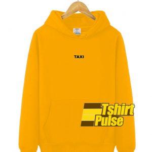 Taxi hooded sweatshirt clothing unisex