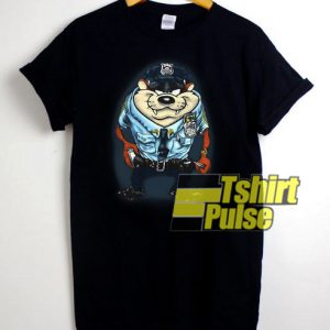 Tazmania Police Officer t-shirt for men and women tshirt