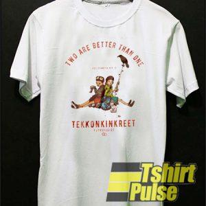 Two Are Better Than One Tekkonkinkreet t-shirt for men and women tshirt
