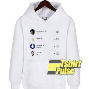 Why Do Legends Die hooded sweatshirt clothing unisex hoodie