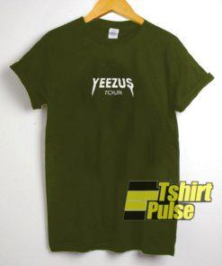 Yeezus Tour t-shirt for men and women tshirt