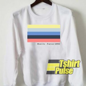 Biarritz France 1990 sweatshirt