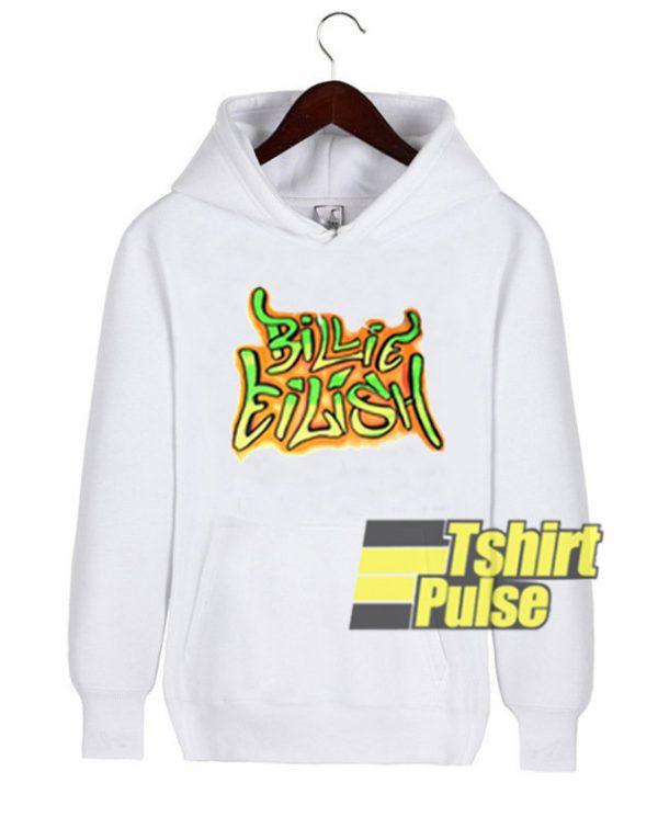 Billie Eilish hooded sweatshirt clothing unisex