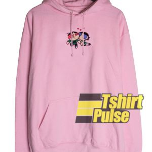 Buttercup Kissing Butch Powerpuff hooded sweatshirt clothing unisex