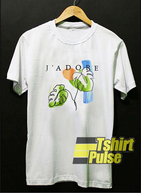 J'Adore t-shirt for men and women tshirt