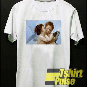 Kiss Angel t-shirt for men and women tshirt
