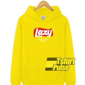 Lazy Sour Cream And Union hooded sweatshirt clothing unisex