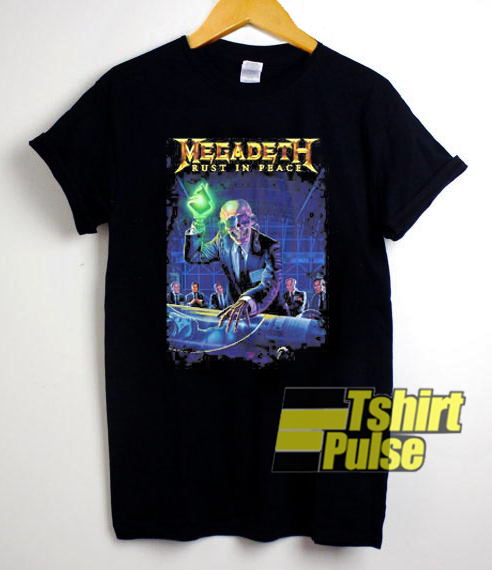 Megadeth Rust In Peace t-shirt for men and women tshirt