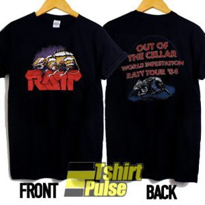 Ratt Tour 84 Out Of The Cellar t-shirt for men and women tshirt