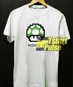 Vision X 8 Bit Video Game Nintendo t-shirt for men and women tshirt
