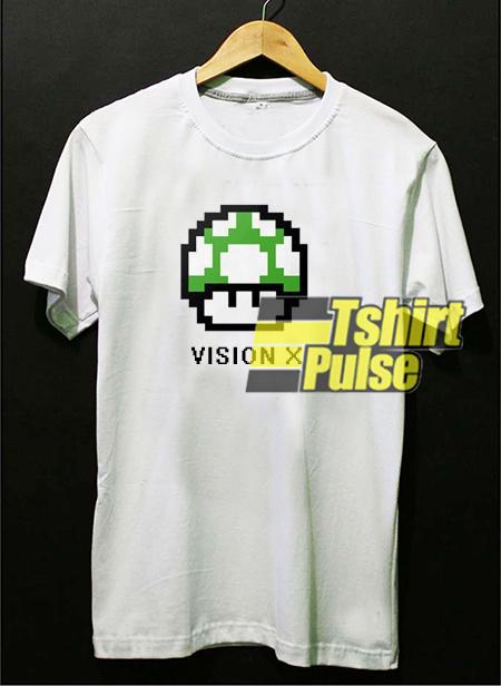 Vision X 8 Bit Video Game Nintendo t-shirt for men and women tshirt