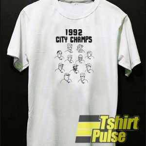 1992 City Champs t-shirt for men and women tshirt