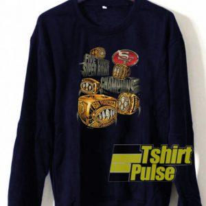 5x Siper Bowl Champions sweatshirt