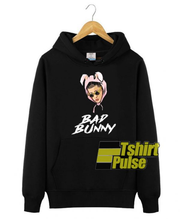 Bad bunny Unisex Pullover hooded sweatshirt clothing unisex hoodie