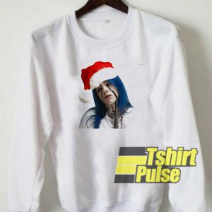 Billie Eilish Christmas sweatshirt